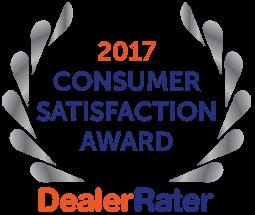 2017 Dealer Rater Consumer Satisfaction Award in DC, MD & VA - Easterns Automotive