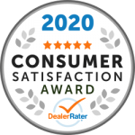 2020 Dealer Rater Consumer Satisfaction Award in DC, MD & VA - Easterns Automotive