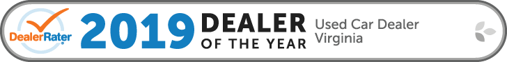 2019 Dealer Rater Used Car Dealership of The Year in Virginia - Easterns Automotive