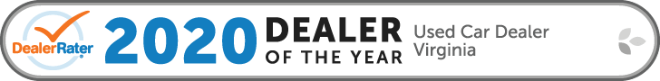 2020 Dealer Rater Used Car Dealership of The Year in Virginia - Easterns Automotive