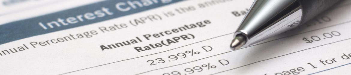 how poor credit can impact your APR