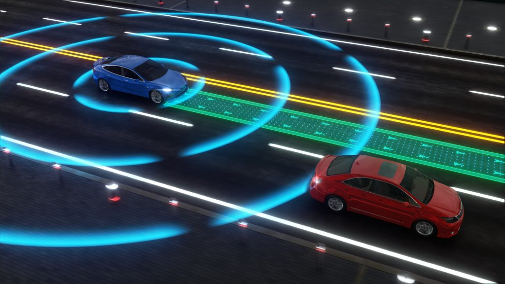 car technology making driving and roads safer